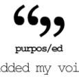 #purposed