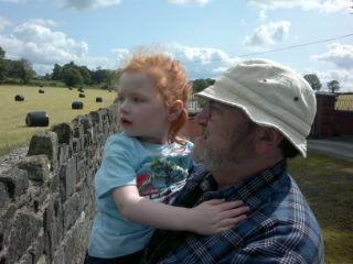 #journal Mia and Grandad