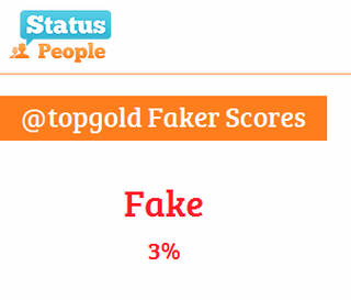 Three Percent Fake