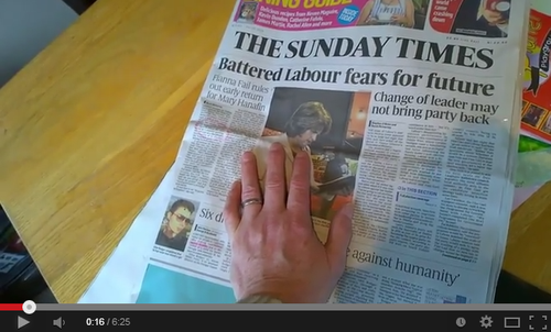 Click for Sunday News about Labour Meltdown
