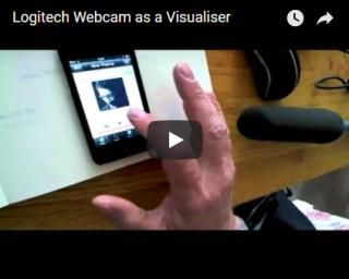 Webcam visualiser