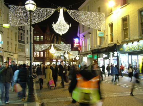 Graftonstreet christmas