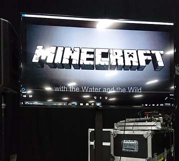 Minevention start screen