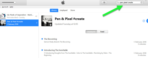 ITunes Pen Pixel Create