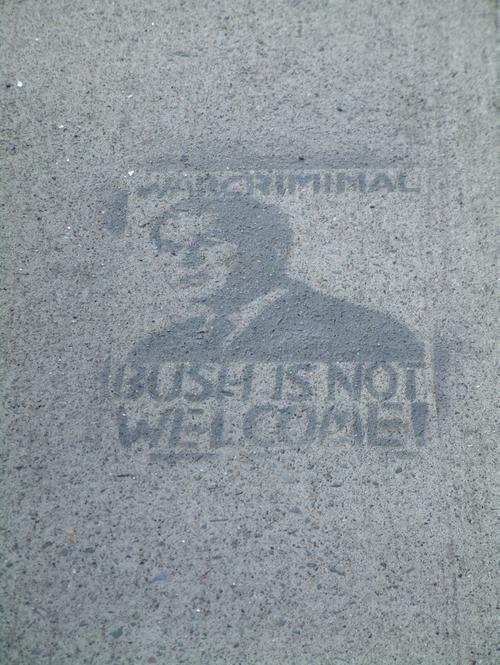 Bush the War Criminal